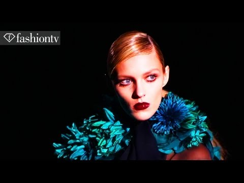 Model Talks - Anja Rubik, Exclusive Interview - Fashion Week 2011 | FashionTV - FTV