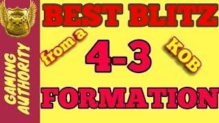 BEST 4-3 BLITZ IN MADDEN 19. BLITZ SO FAST, YOUR OPPONENT WILL MAKE MISTAKES. BEST BLITZ IN MADDEN.