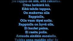 Hassisen kone - Rappiolla