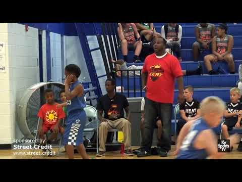 DSP Heat vs Kentucky [GAME] - AAU Basketball 2017 DSP War On the Floor