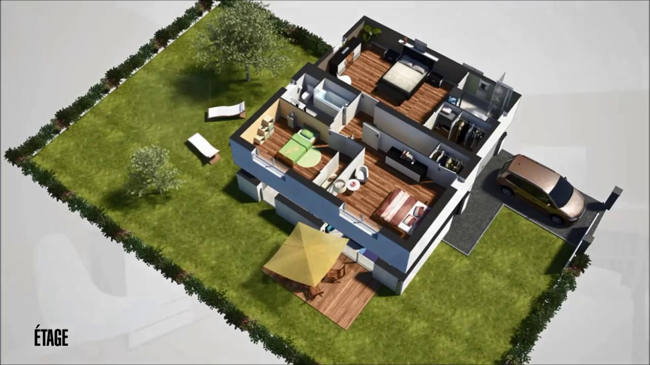 kit maison ossature metallique bauhu m tallique l g re modulaire en art Maison Hmbc. Trendy La Meilleure Offre With Maison Hmbc. Best De ...