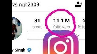 Increase Instagram 1k followers per minute..