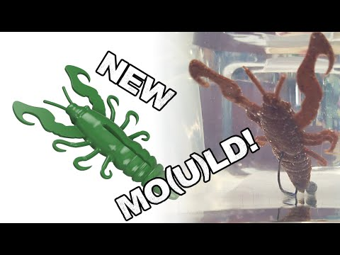 Creating A Soft Plastic Crayfish (crawfish, Crawdad, Yabby)