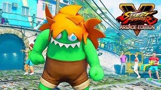 Street Fighter 5 - BLANKA Story Walkthrough @ 1080p (60ᶠᵖˢ) HD ✔