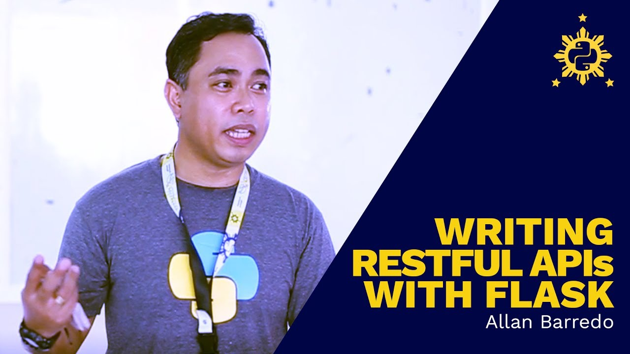 Image from PyCon PH 2017 - Writing RESTful APIs with Flask by Allan Barredo