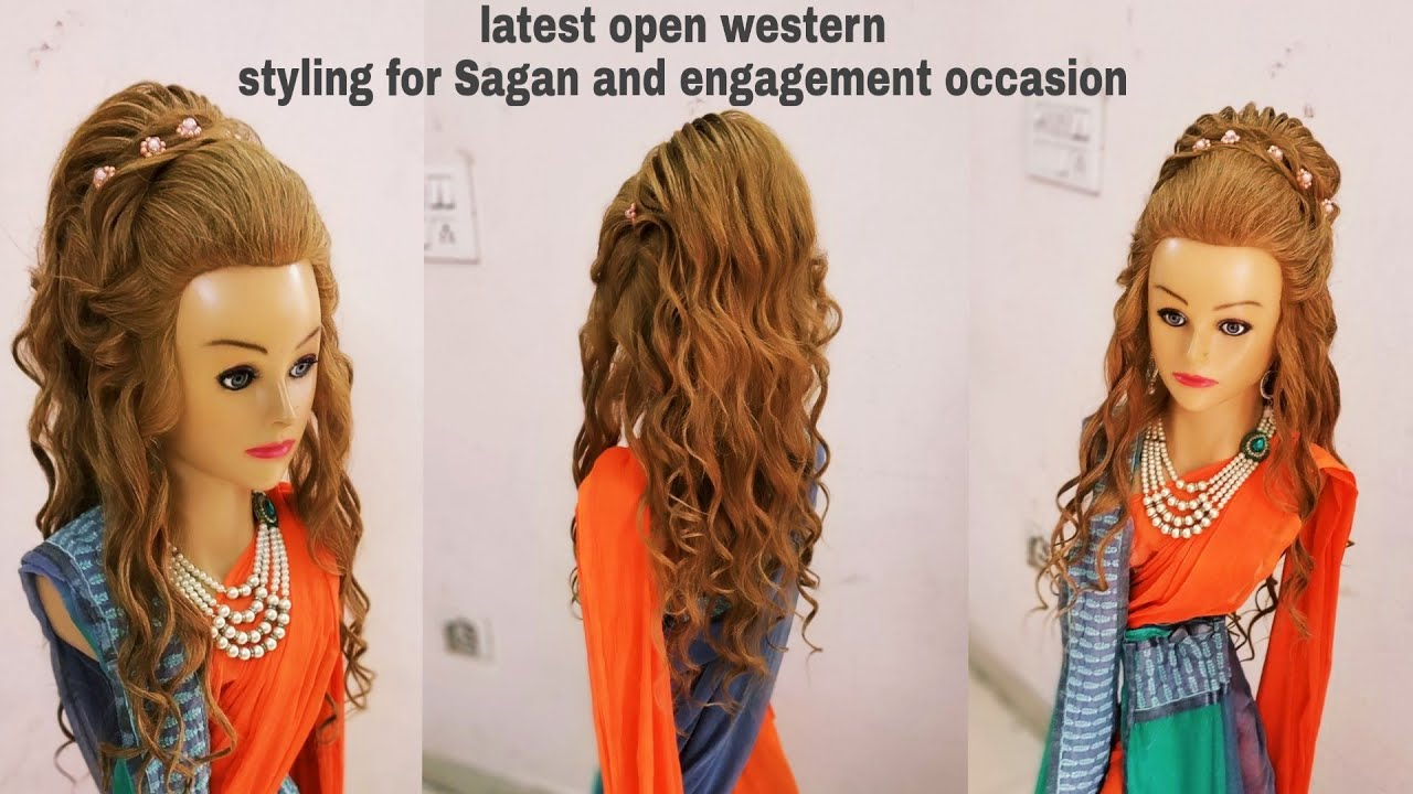 Latest Open Hairstyle 2018 Latest Western Open Hairstyle Open