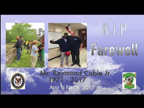 Mr. Cable's Memorial | Sharpstown High School