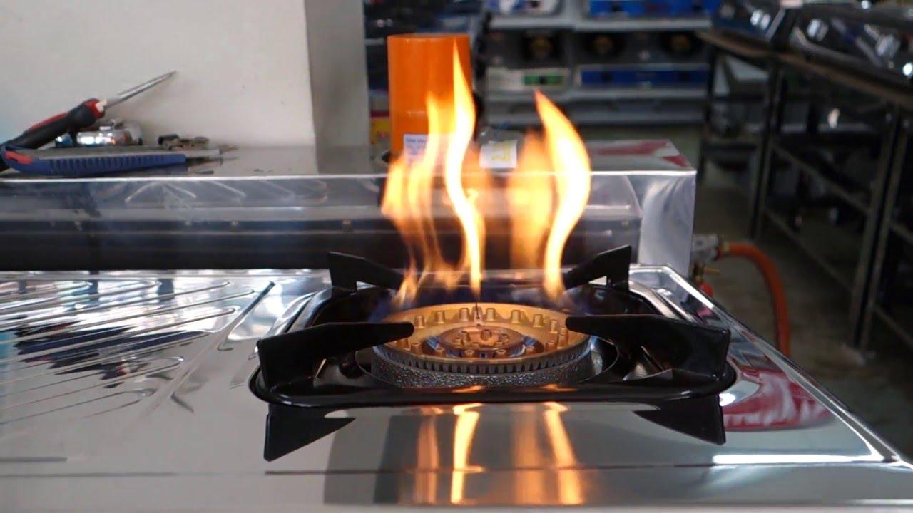 เตาแก๊สไฟเป็นเปลว หม้อเป็นเขม่าดำ แก้ยังไง / โดย ปริญญาพานิช 0896667763