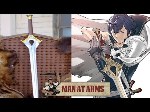 Man at Arms crafts Fire Emblem: Awakening's Falchion