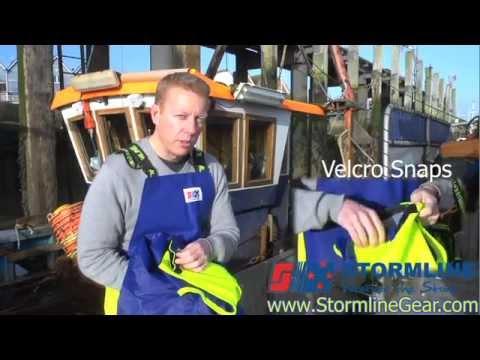 Stormline Crew 654 Foul Weather Heavy Duty Bib And Brace Pants