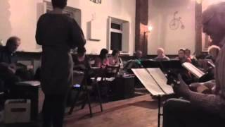 Wirral Ukulele Orchestra rehearse Darktown Strutters Ball May 2015