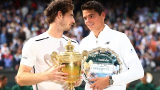 Canada's Milos Raonic falls to Andy Murray in Wimbledon final