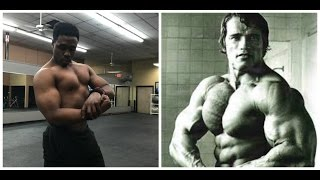 Download arnold chest videos dcyoutube arnold chest workout malvernweather Image collections