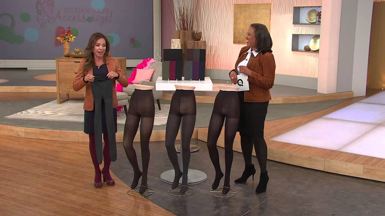 Qvc hosts in pantyhose