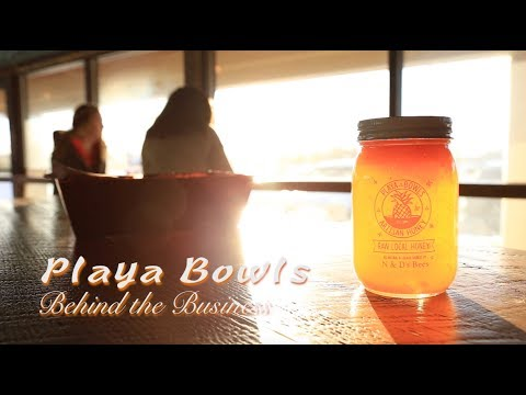 PLAYA BOWLS: Behind the Business - YouTube