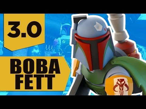 Disney Infinity 3.0: Boba Fett Gameplay and Skills