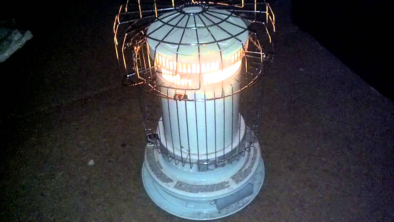 Megaheat Mega 230 Kerosene Heater In Operation Youtube
