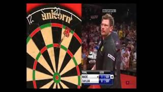 PHIL TAYLOR - TWO 9 DARTERS IN ONE MATCH - (ALMOST THREE)!