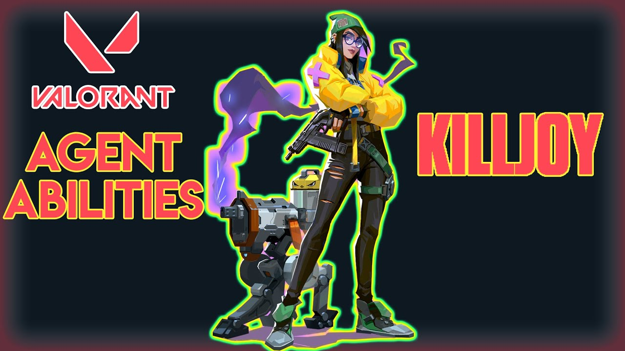 VALORANT - KILLJOY ABILITIES - PATCH 1.05!