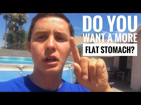 How To Get A Flat Stomach In A Week For Teenagers At Home!