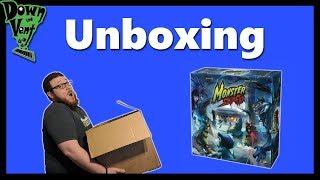 Monster Slaughter Board Game Unboxing