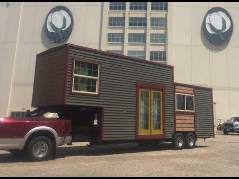 24 Whittle Wagon Tiny House On Gooseneck Trailer Youtube