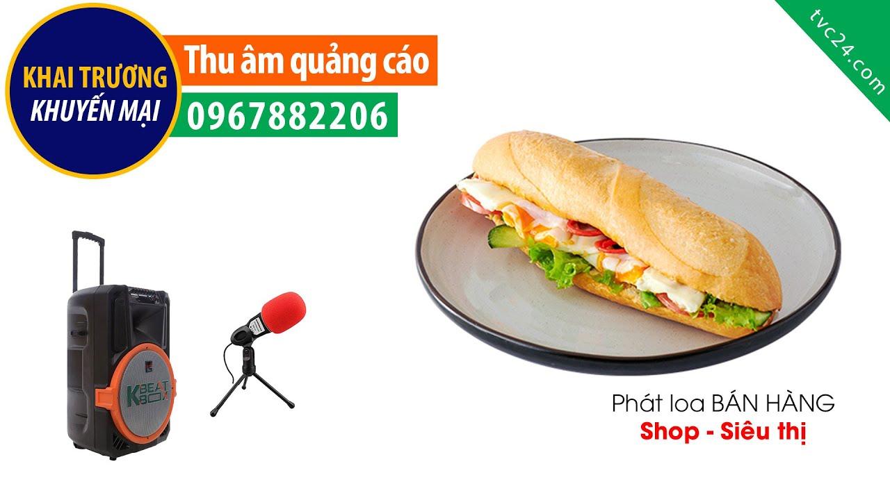 Thu âm quảng cáo bán hàng Pate Đồng Tiến