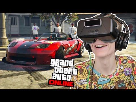 DRIFTING IN VIRTUAL REALITY! | GTA 5: Online (Oculus Rift DK2)