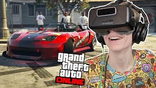 DRIFTING IN VIRTUAL REALITY! | GTA 5: Online (Oculus Rift DK2)