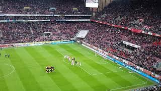 1.FC KÖLN VS DYNAMO DRESDEN STIMMUNG NACHDEM ABPFIFF 🙌