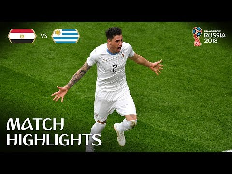 Egypt v Uruguay - 2018 FIFA World Cup Russia™ - MATCH 2