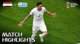Egypt v Uruguay - 2018 FIFA World Cup Russia™ - MATCH 2