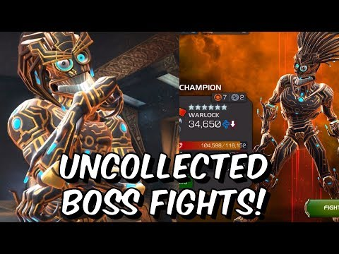 Sunspot & Warlock Uncollected Boss Fights! - X-Machina Event - Marvel Contest of Champions