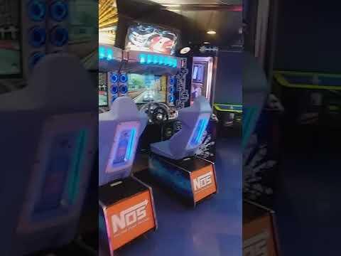 Teen Center/Arcade- Vision of the Seas. Royal Caribbean