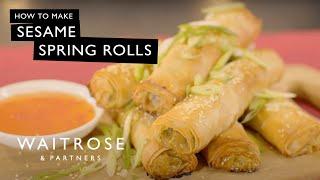 Sesame Spring Rolls | Waitrose