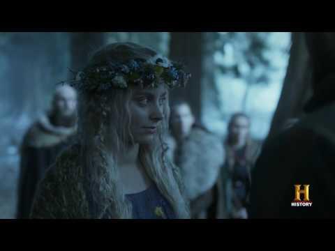 Ubbe marries Margarethe - Vikings 4x18