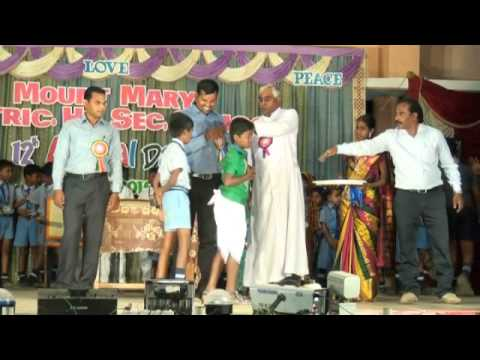 Prize Distribution by chief guest