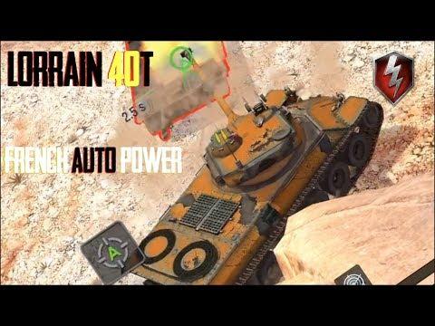 Lorraine 40T- Premium 4 shot Auto Loader World of Tanks Blitz