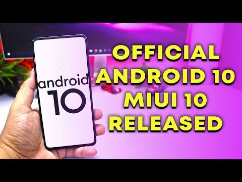 Download Stable Android 10 MIUI 10 on Redmi K20 PRO