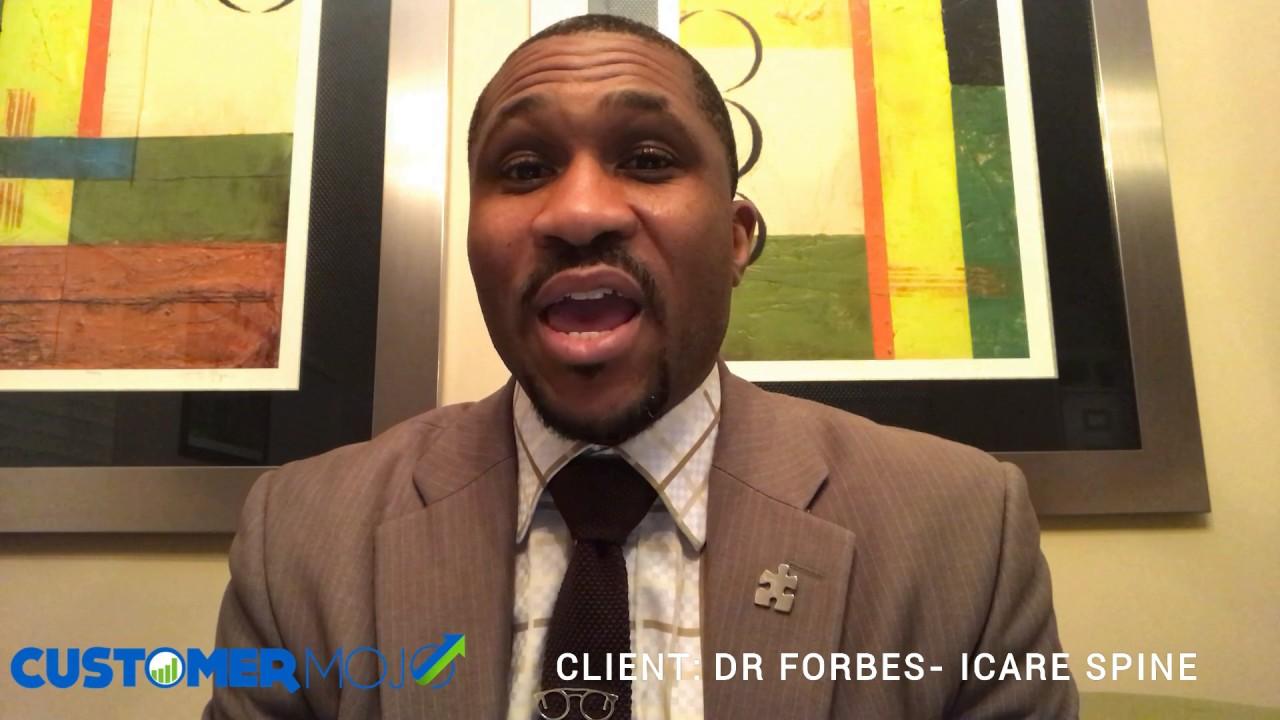 Entdecken Neuankömmling großer Diskontverkauf CLIENT TESTIMONIAL - Dr Cecil Forbes at iCare Spine ...