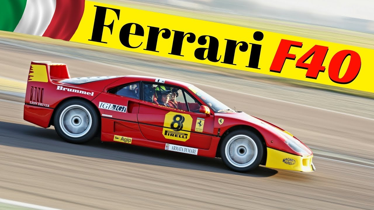 Ferrari F40 Gt Competizione Multicam On Board Flames Flatout Turbo Sound Drive Experience Youtube