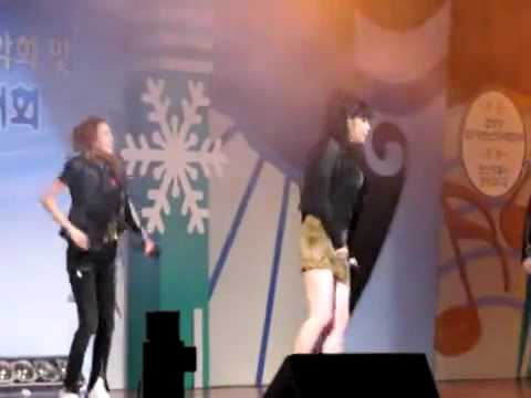 101122 FANCAM - 2NE1 Nonsanshi Youth Event