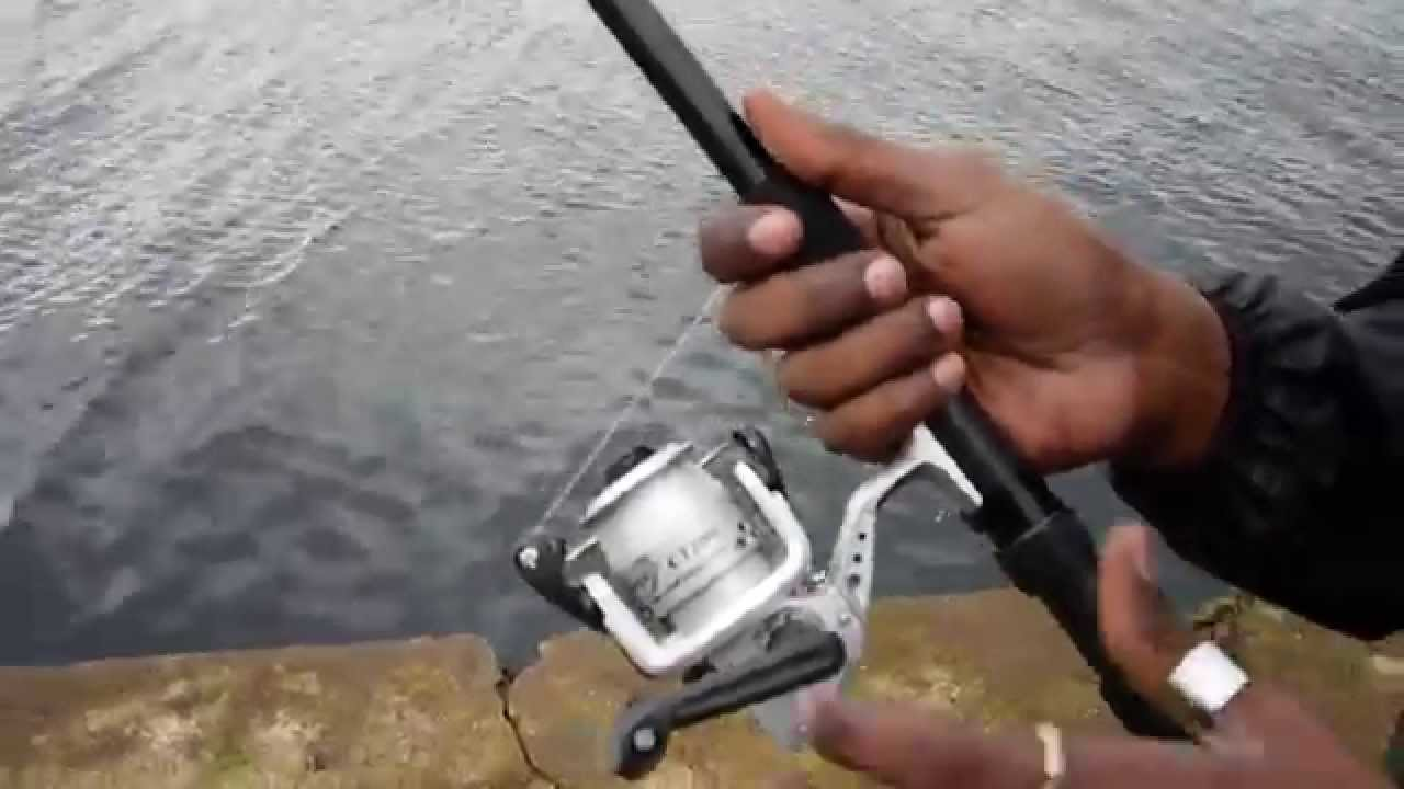 How to cast a Spinning reel-Fishing,Angling