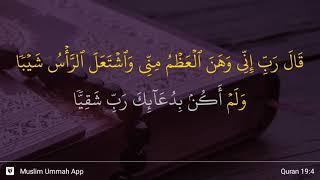 Qs 194 Surah 19 Ayat 4 Qs Maryam Tafsir Alquran