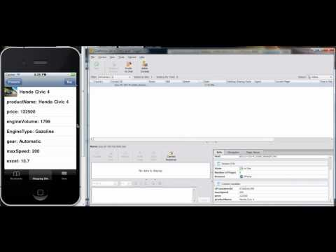 LivePerson Visit API In An IPhone Application