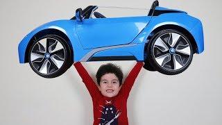Gambar cover Yusuf Süt İçti ve Çok Güçlü Oldu | Kids pretend play batery-powered car