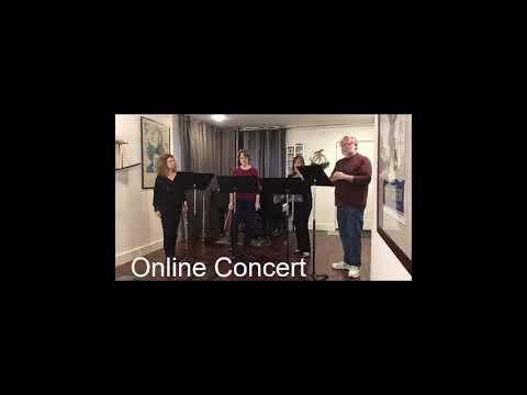 Online Concert #1 - 3/31/19 -Philadelphia Flute Quartet - Social Media Finds