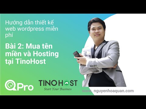 Thiết kế website wordpress - Bài 2: Mua tên miền và hosting tại Tino Host