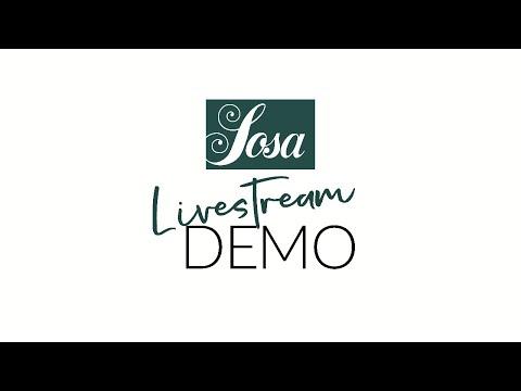 Sosa Livestream Demo \