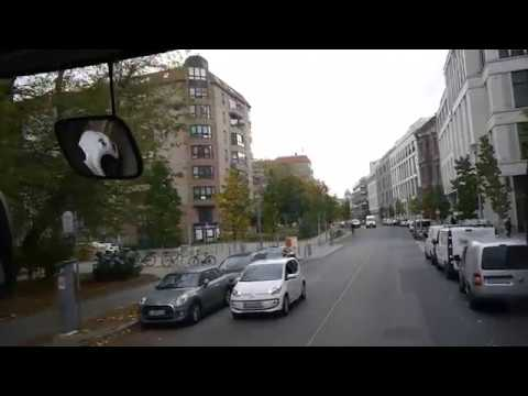 D: Berlin. Germany. Exploring The City From A Bus. October 2017